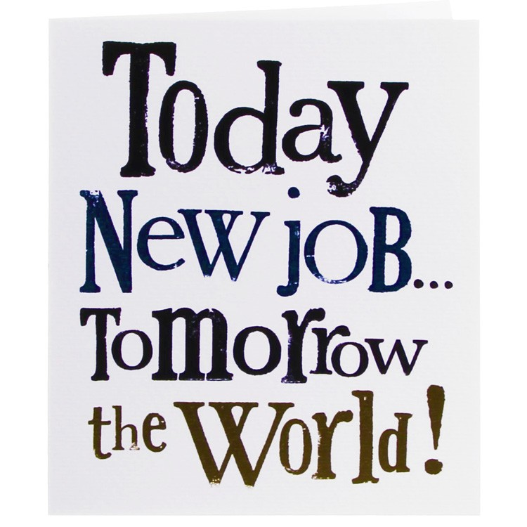 A new job – Diyfamilygarden